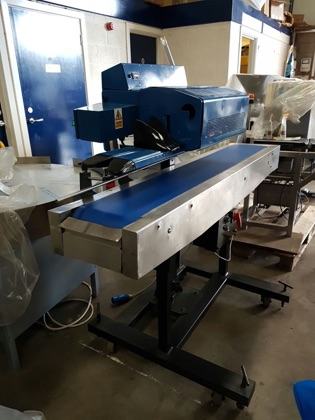 Saxon 5 Bag Sealer With Conveyor Used Stock 4